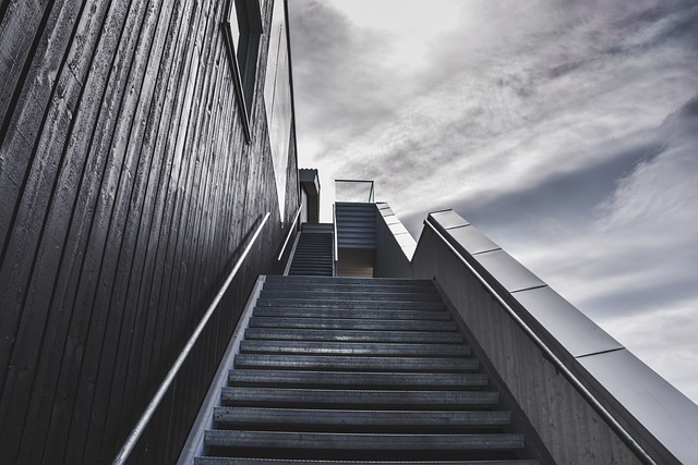 Overwhelming stairs to the sky