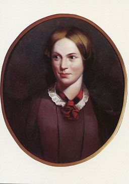Portrait painting of Charlotte Bronte