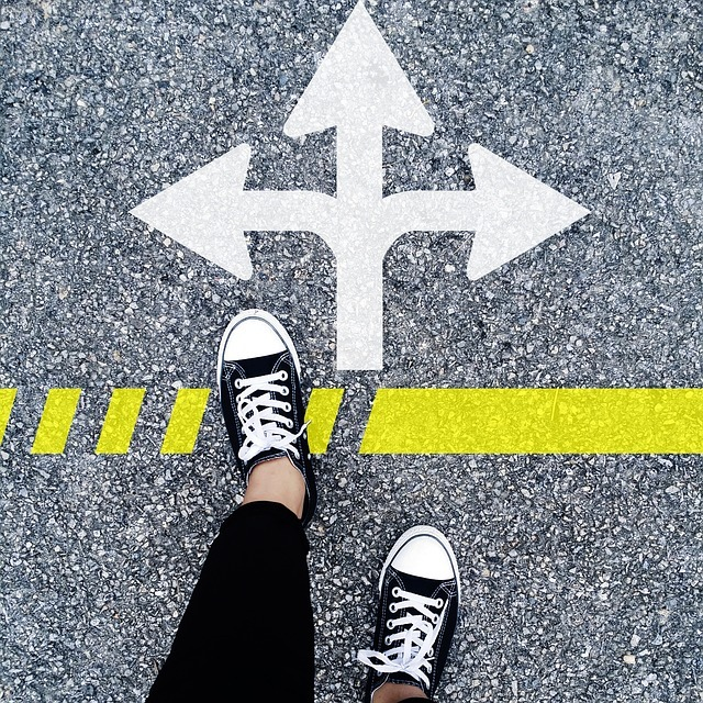 One step at a time when faced with multiple directions