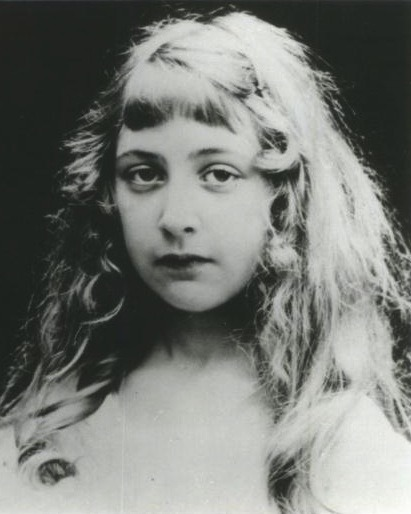 Portrait of a young Agatha Christie