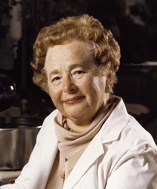 Portrait of Nobel Prize Winner Gertrude Elion