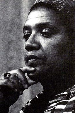 Portrait of Poet and Writer Audre Lorde