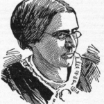 Drawing of Susan B. Anthony