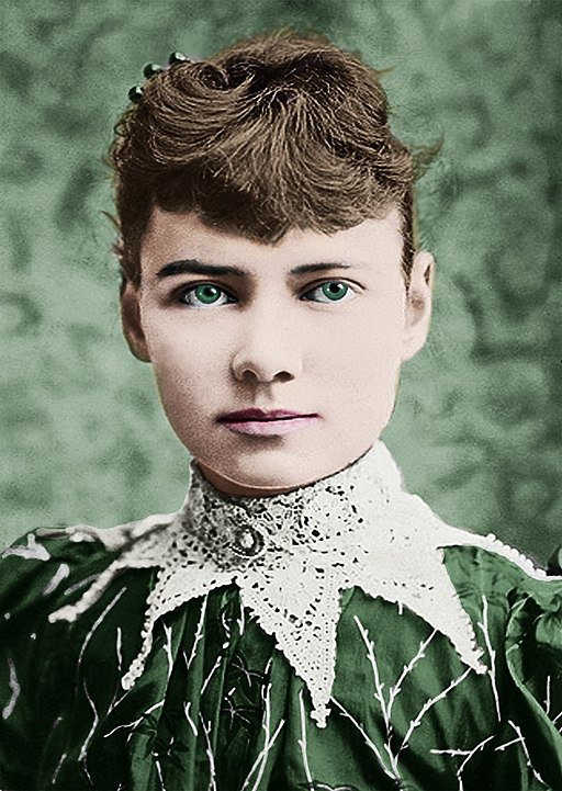 Portrait of writer Nellie Bly