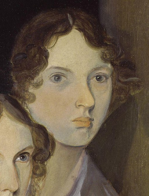 Painted portrait of Emily Bronte