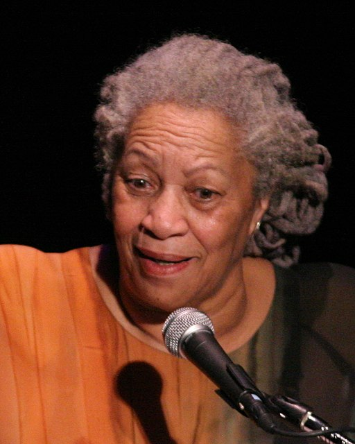 Author Toni Morrison speaking